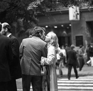 Влюбленные на улице Вильнюса. 1973 год