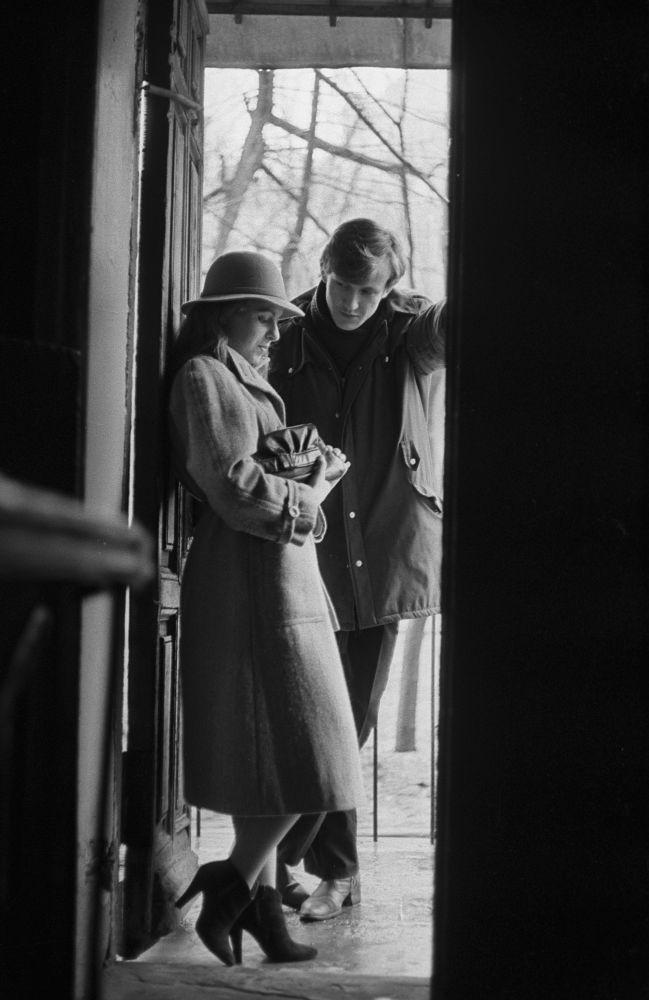 Молодая пара. Москва, 1987 год