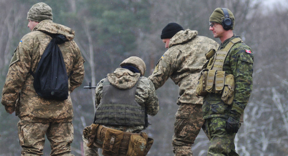 Kanadyjscy instruktorzy szkolą ukraińskich żołnierzy