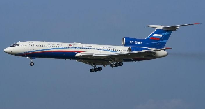 Rosyjski samolot Tu-154M-LK-1.