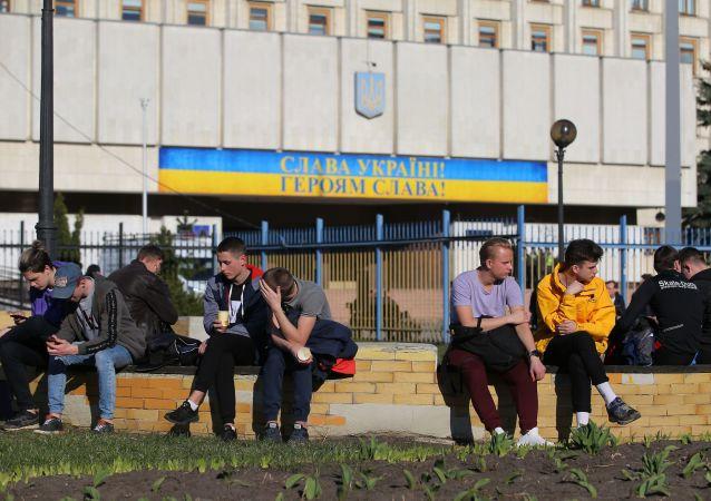 Wybory prezydenckie na Ukrainie, siedziba Centralnej Komisji Wyborczej w Kijowie