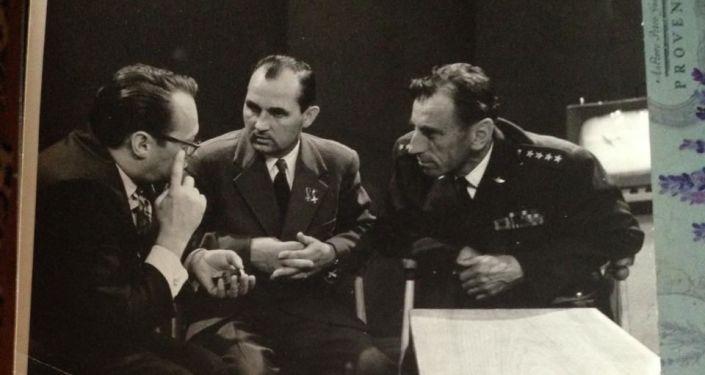 Gorczakow z Alesiem Adamowiczem