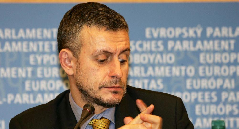 Minister spraw zagranicznych Bułgarii Solomon Pasi. Zdjęcie archiwalne