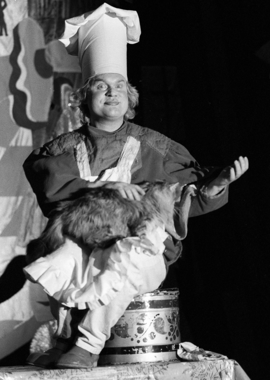 "Cyrkowy numer ""Kot i kucharz"", 1992 rok"