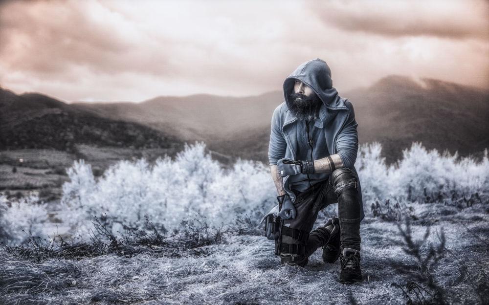 Zdjęcie fotografa Vladimira Migutina, uczestnika konkursu fotografii w podczerwieni Life in Another Light