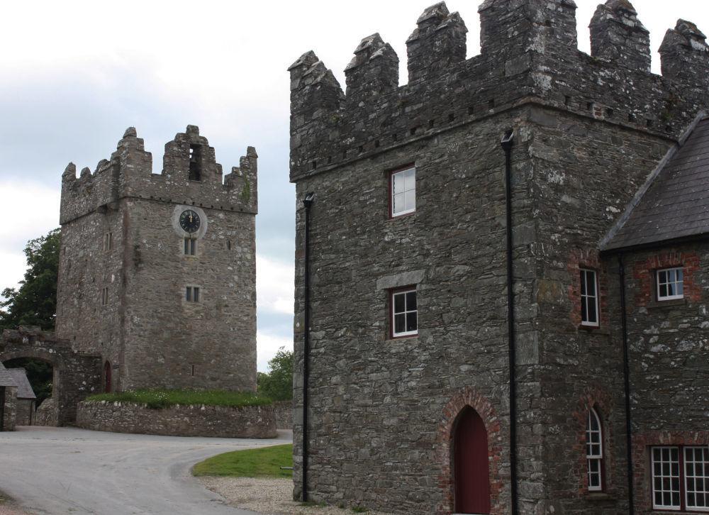 Zamek Castle Ward w Irlandii