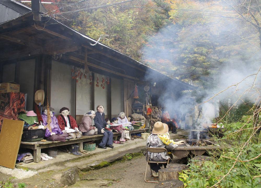 Wieś Nagara w Japonii