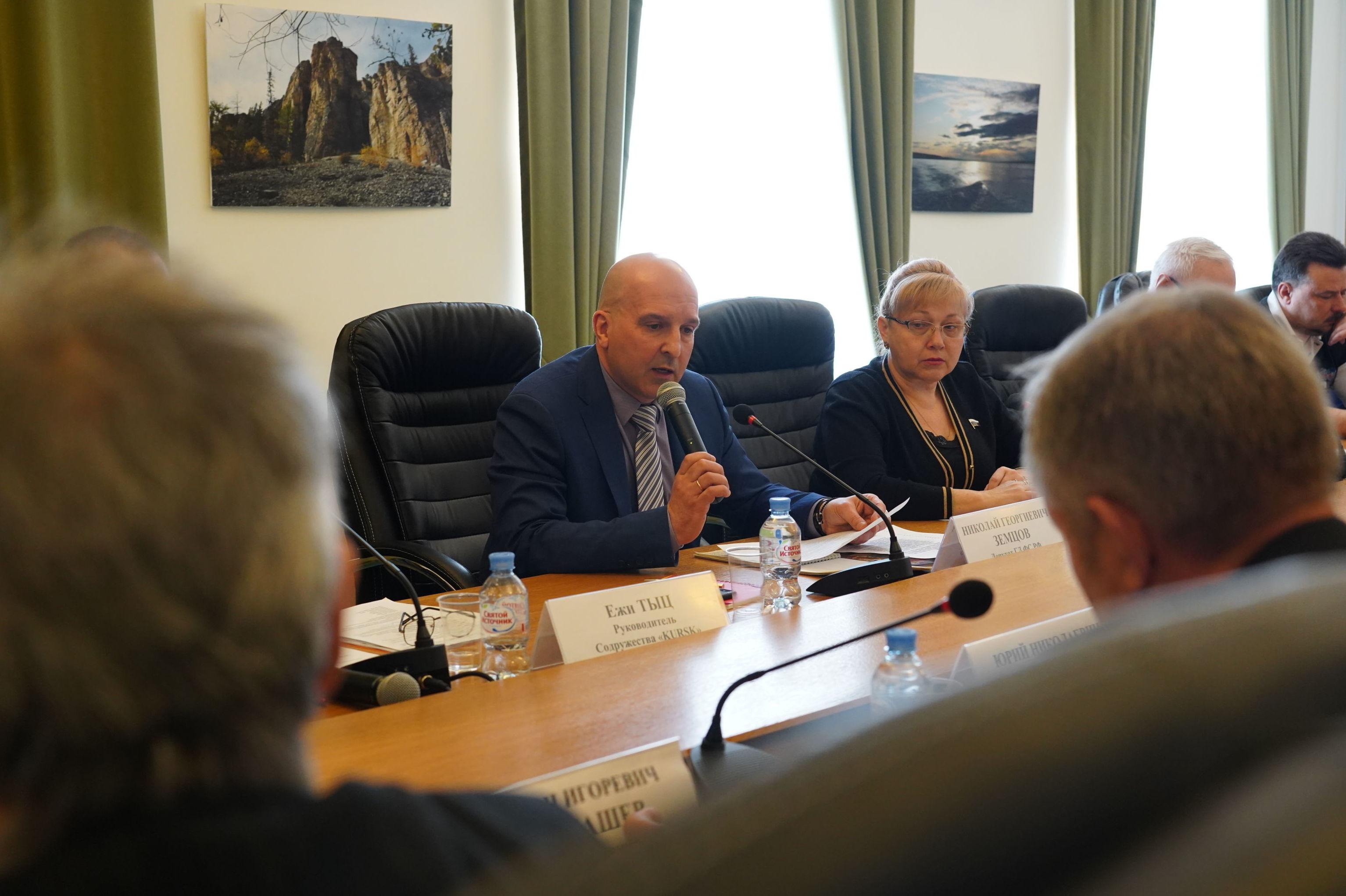 Rosyjscy parlamentarzyści dyskutują na temat zniszczenia mauzoleum w Trzciance