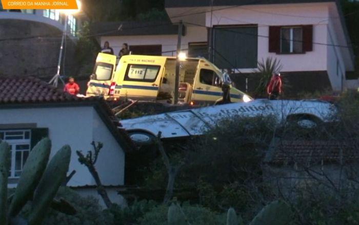 Wypadek samochodowy na Maderze