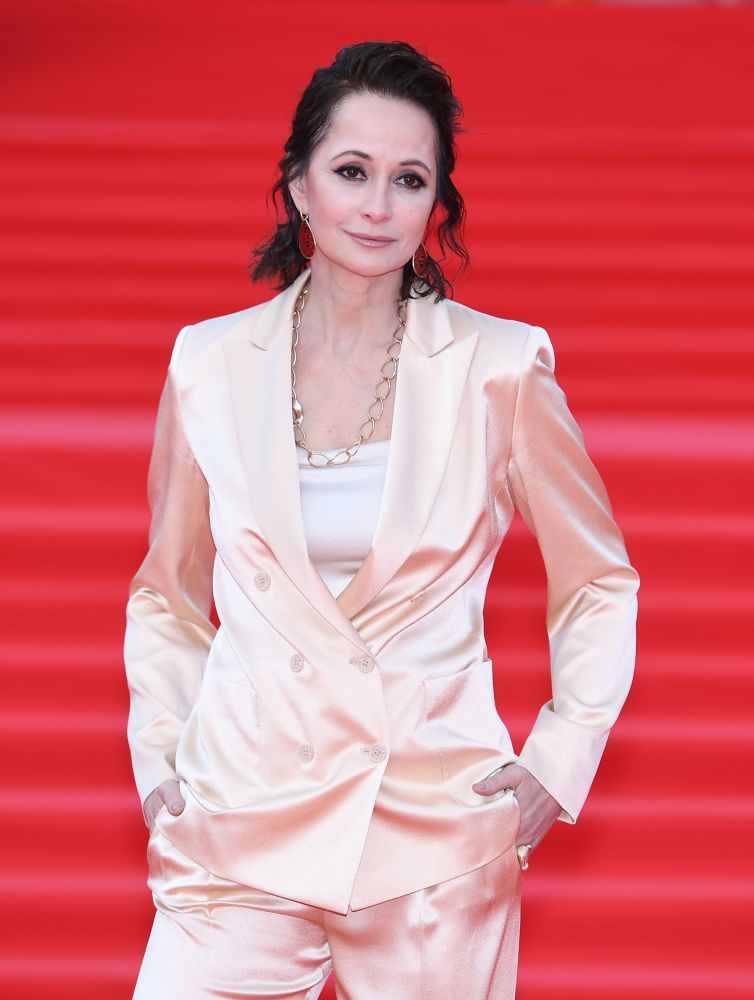 Aktorka Olga Kabo na otwarciu Moskiewskiego Międzynarodowego Festiwalu Filmowego