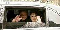 Kim Dzong Un z żoną w Pekinie