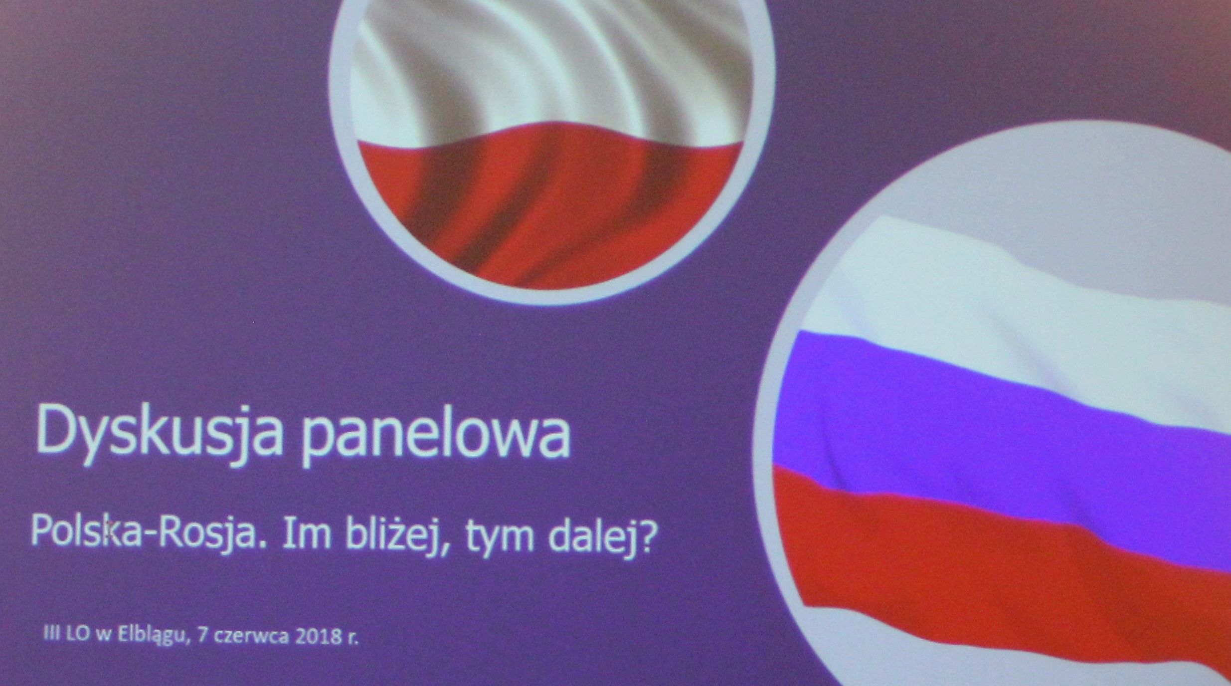 Dyskusja w Elblągu