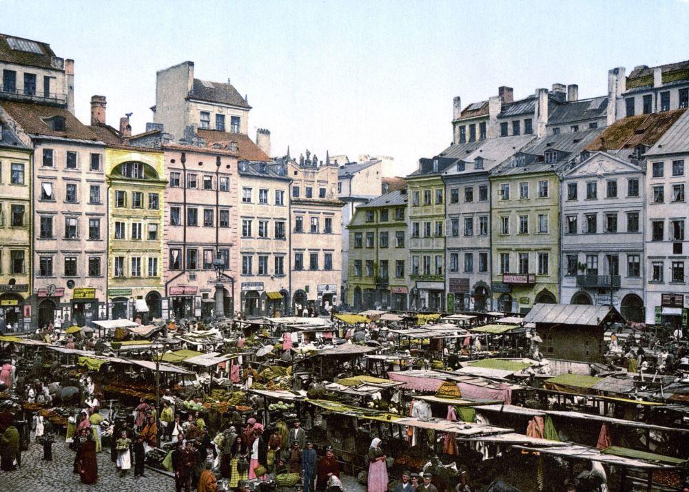 Rynek w Warszawie, 1900 rok