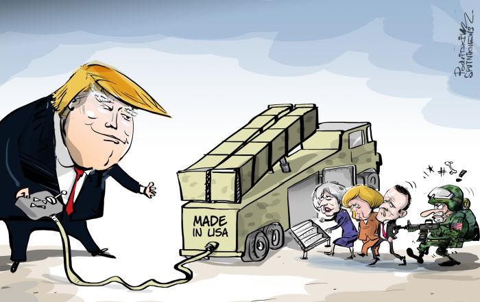 Trump zaprasza... do współpracy