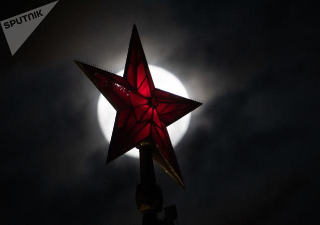 Czerowna Gwiazda na Kremlu