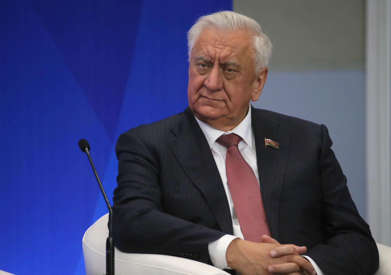 Przewodniczący Rady Republiki Zgromadzenia Narodowego Białorusi Michaił Miasnikowicz