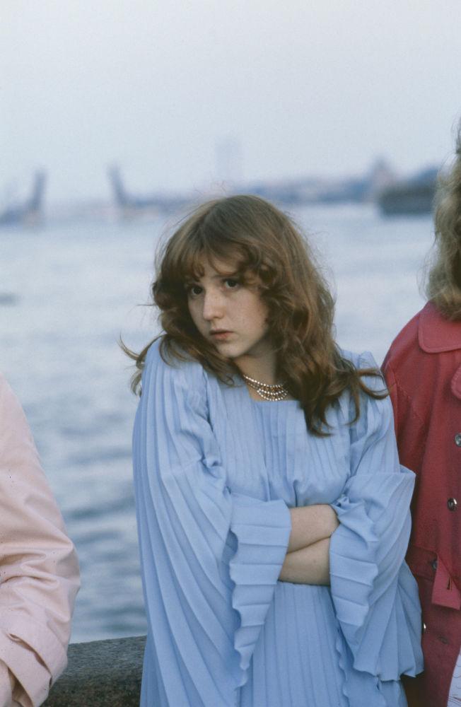 Absolwentka szkoły średniej na brzegu Newy w Leningradzie, 1980 rok