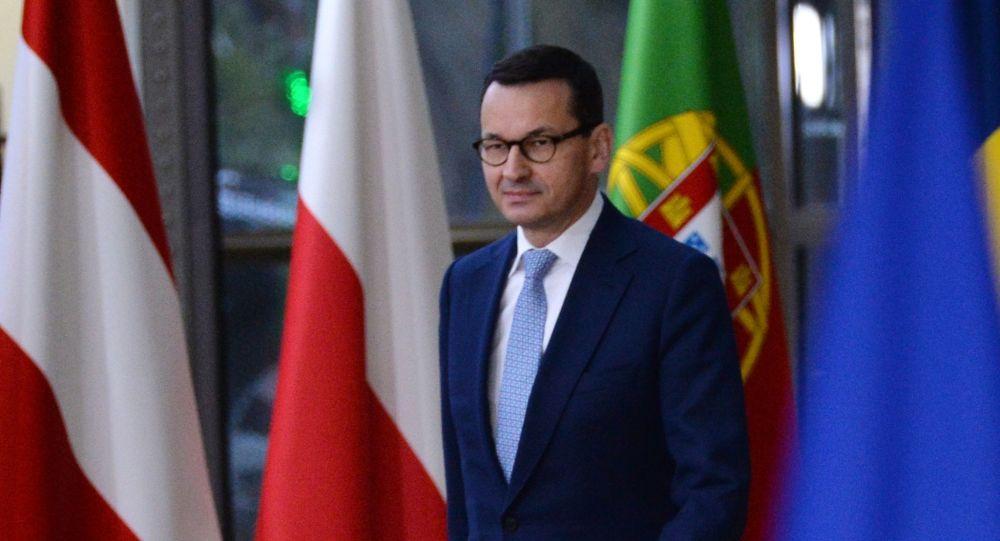 Mateusz Morawiecki podczas szczytu UE w Brukseli