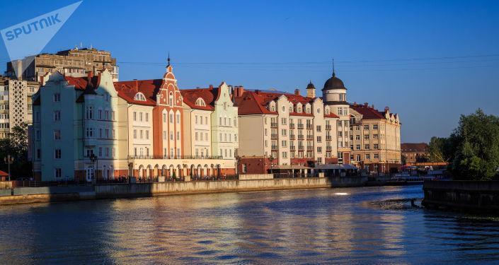Wioska Rybacka (Rybnaja dieriewnia) w Kaliningradzie