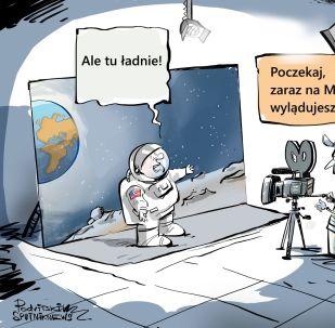 Mars coraz dalej