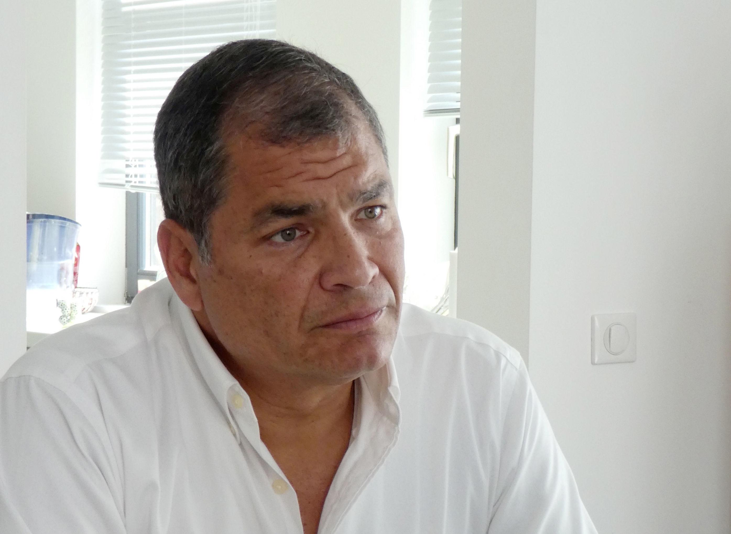 Były prezydent Ekwadoru Rafael Correa