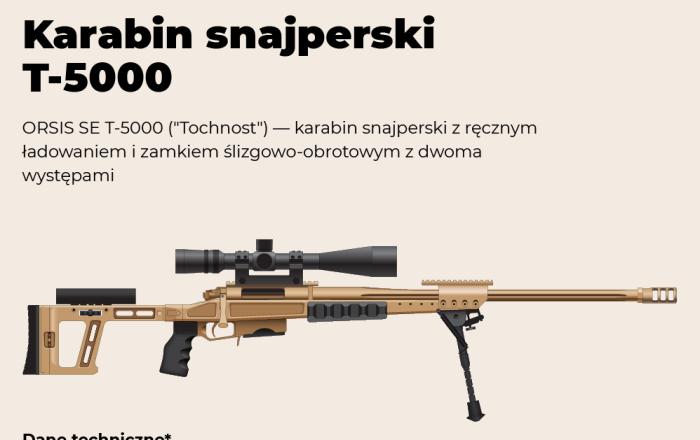 Karabin snajperski T-5000