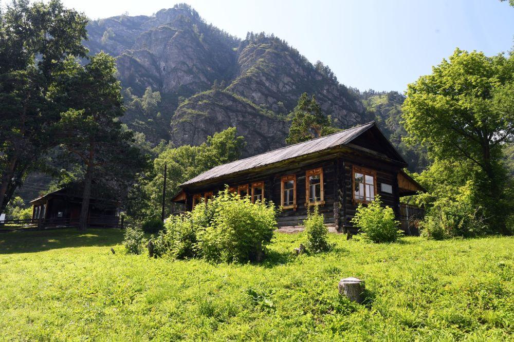 Muzeum w rezerwacie przyrody w Republice Ałtaju