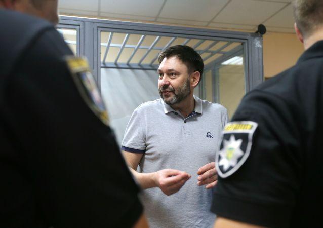 Kirił Wyszynski w sądzie w Kijowie