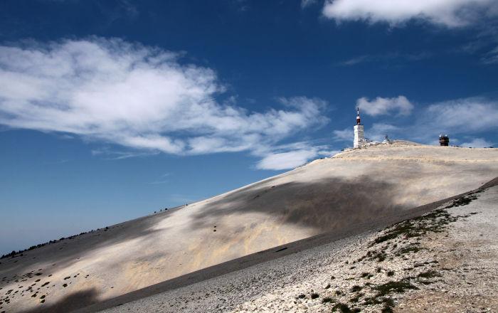 Góra Mont Ventoux we Francji