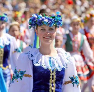 Tradycyjny białoruski strój