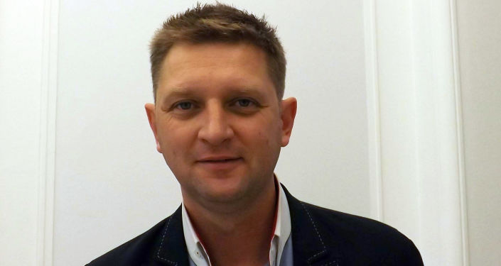 Polski polityk Andrzej Rozenek (SLD)