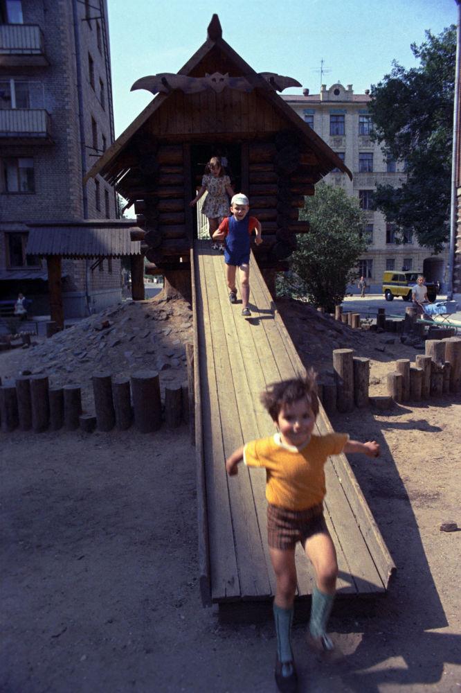 Plac zabaw w Moskwie, 1975 rok