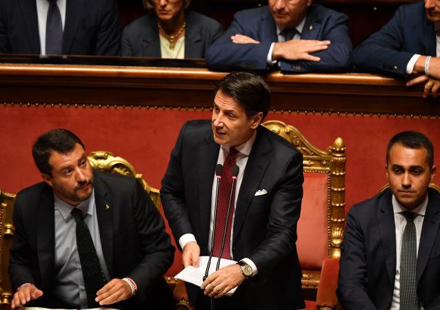 Posiedzenie włoskiego Senatu, 20.08.2019 r.