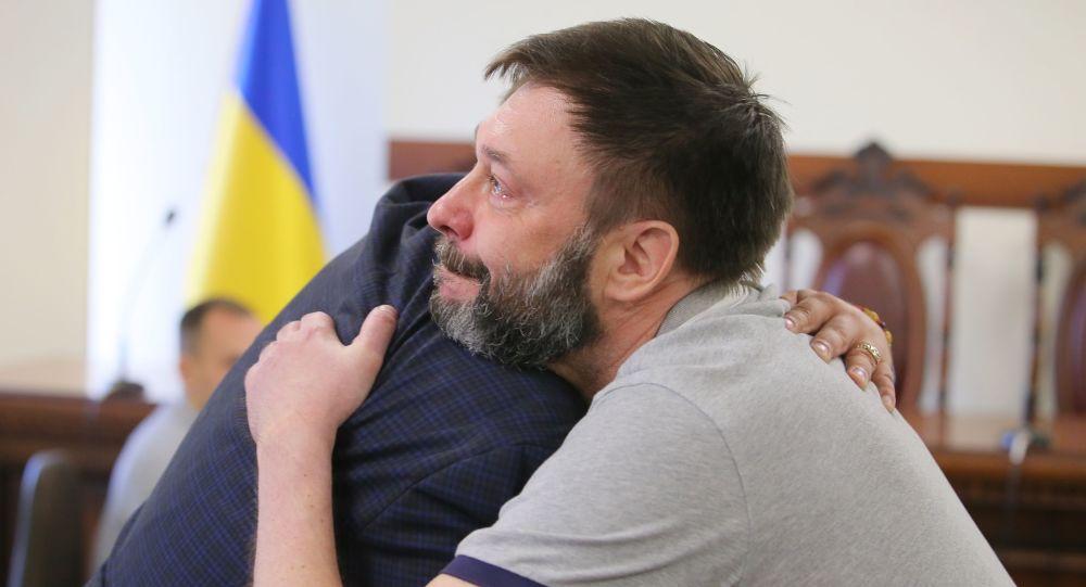 Szef agencji Ria Novosti Ukraina Kiriłł Wyszynski