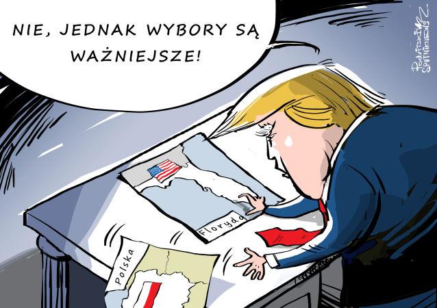 Entliczek-pentliczek: Polska czy Floryda?