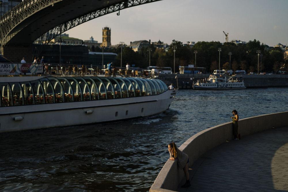 Na brzegu rzeki Moskwy