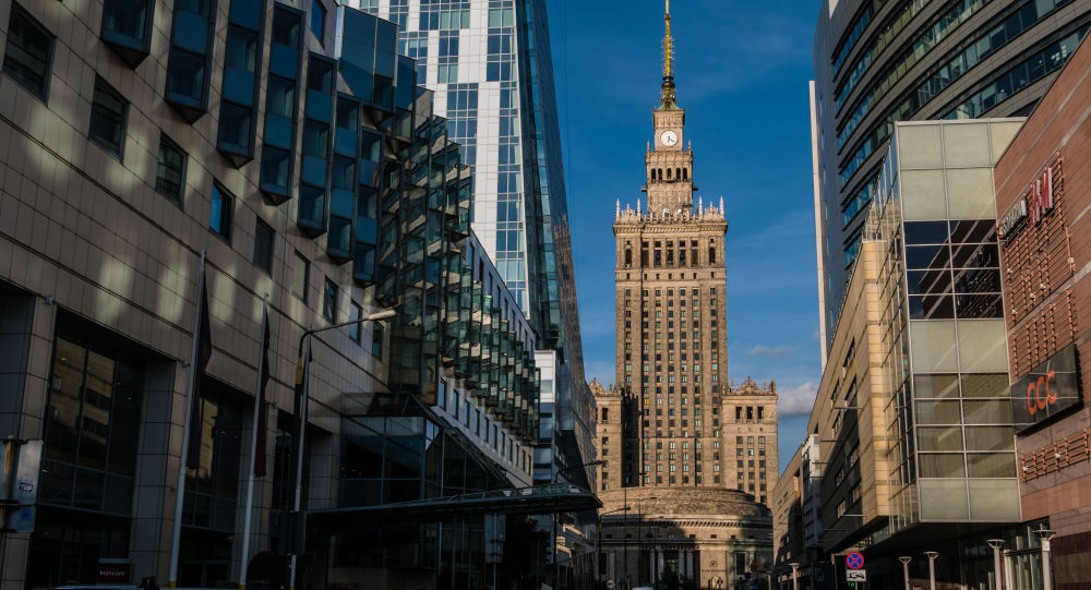 Pałac Kultury i Nauki w Warszawie.