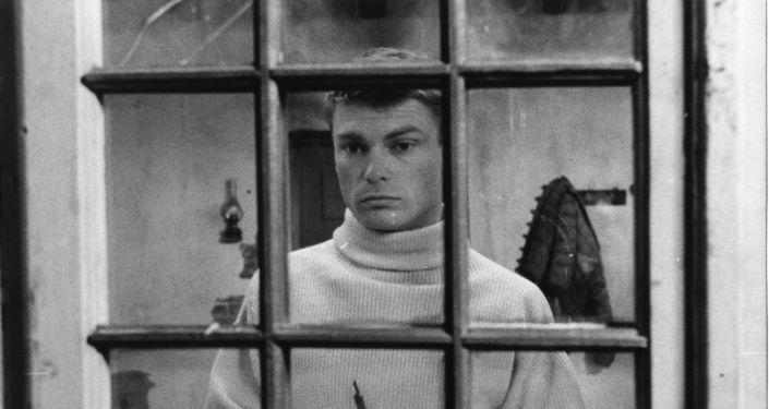 """Kadr z filmu """"Śmierć prowincjała"""" (1965)"""