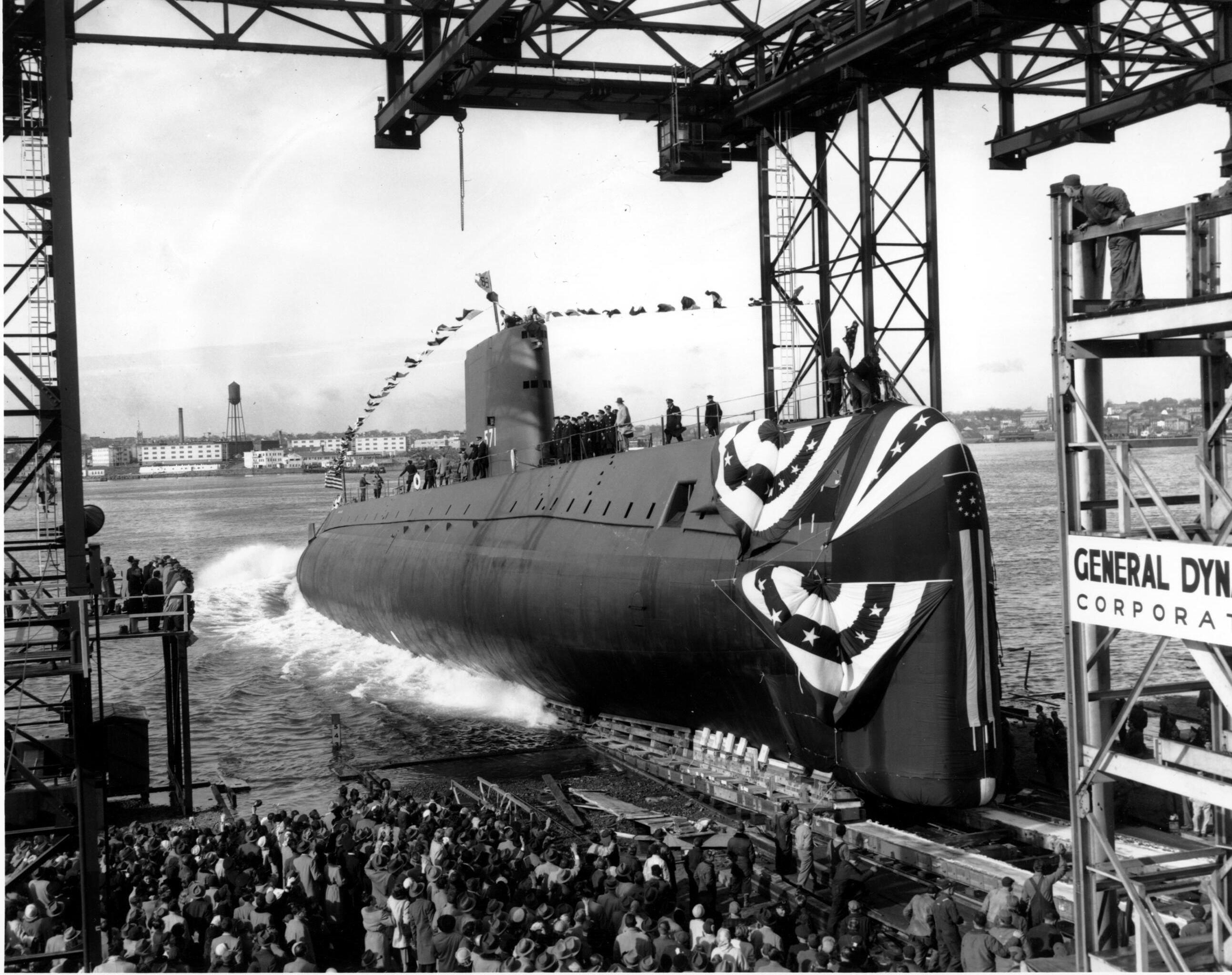 Pierwszy amerykański atomowy okręt podwodny USS Nautilus (SS-571)