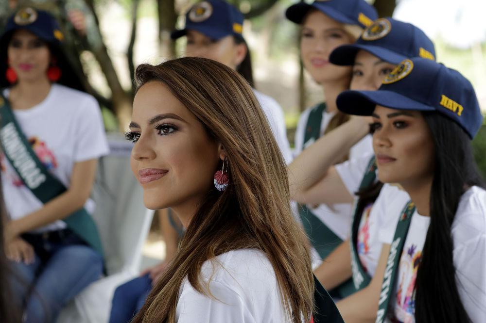 Kandydatka ubiegająca się o tytuł Miss Earth 2019