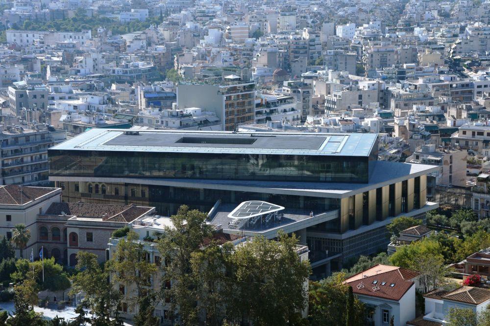 Nowe muzeum Akropolu w Atenach