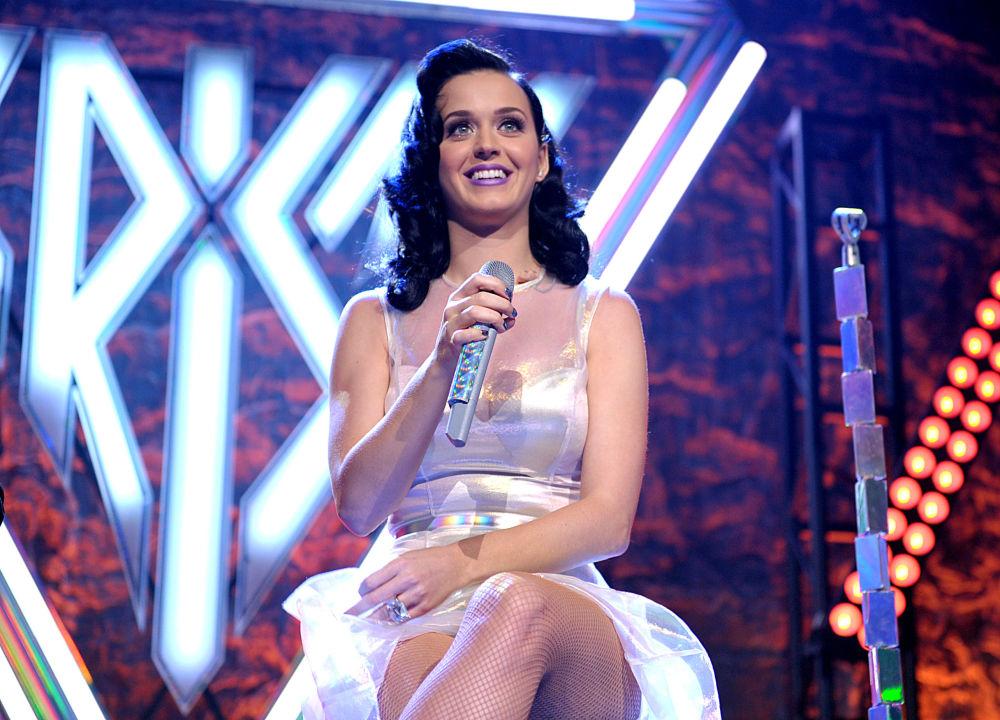 Amerykańska piosenkarka Katy Perry