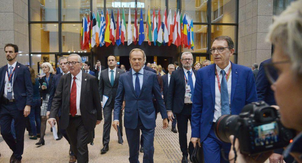 Donald Tusk na szczycie UE w Brukseli