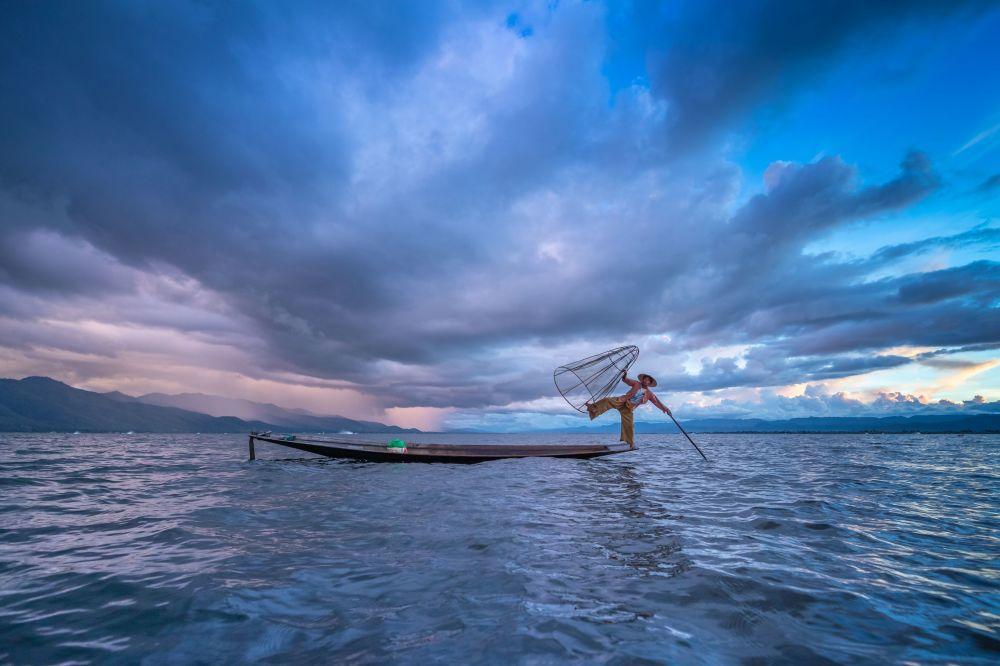 """Zdjęcie """"Blue Sky"""" przedstawione podczas konkursu fotograficznego World's Best Photos of #Blue2019"""