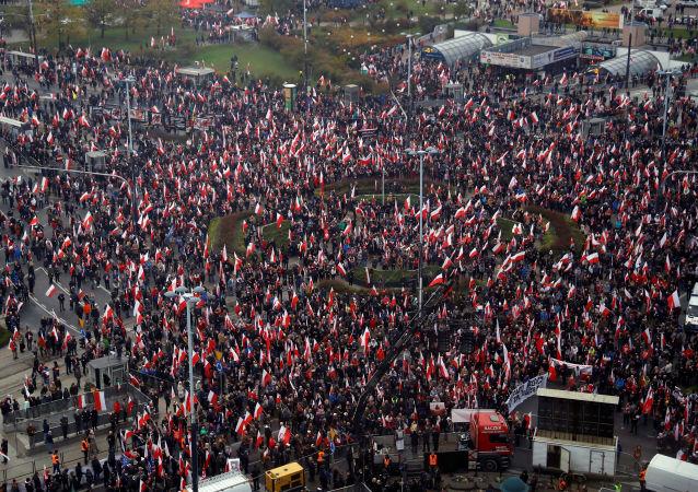 Marsz Niepodległości 2019 w Warszawie