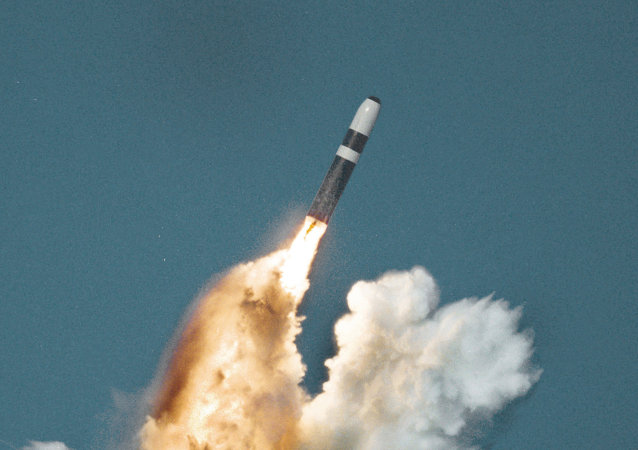 Wystrzelenie rakiety Trident II