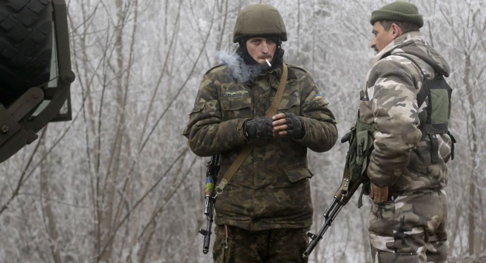 Konflikt na Ukrainie. Ukraińscy żołnierze