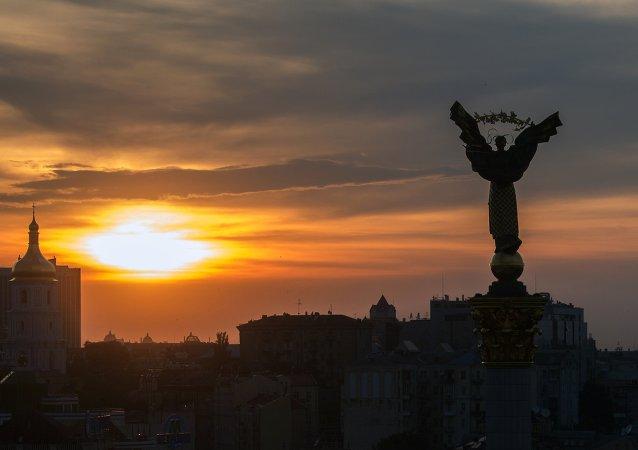 Plac niezależności w Kijowie
