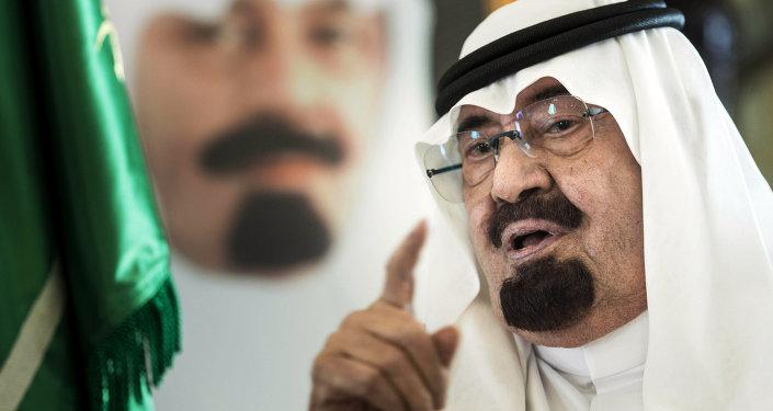 Król Arabii Saudyjskiej Abdullah