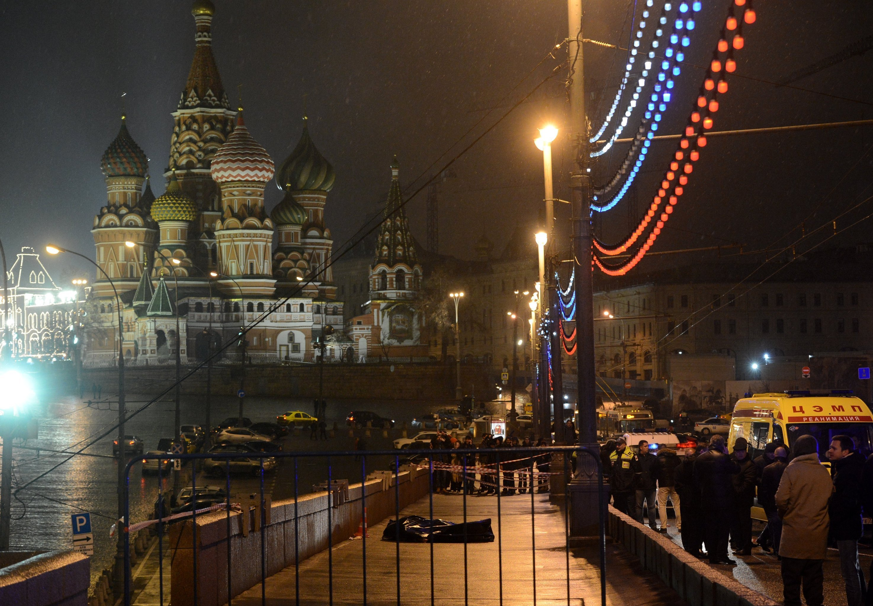 Opozycyjny rosyjski polityk Borys Niemcow został zastrzelony w centrum Moskwy